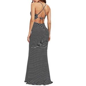 Dresses & Skirts - Strappy Backless Sexy Evening Dress